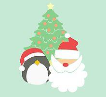 Santa & Penguin #4 by simplepaperplan