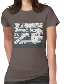 Vector Doodle Section 1 Womens Fitted T-Shirt