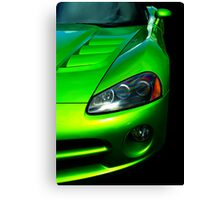 Taste of Lime Canvas Print