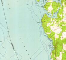 USGS Topo Map Washington State WA Roche Harbor 243483 1954 24000 Sticker