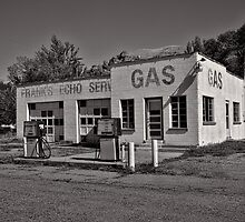 Frank's Echo Service Station by Brenton Cooper