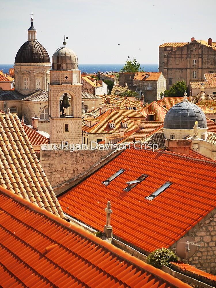 Dubrovnik Rooftops by Ryan Davison Crisp