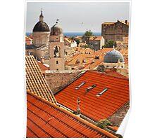 Dubrovnik Rooftops Poster