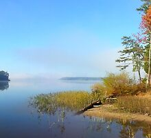 Jordan lake early in the morning by Samohsong