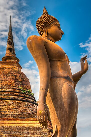 Thai Buddha by Adrian Evans