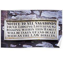 Vagabonds Beware! Poster
