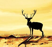 The Deer by Richard Eijkenbroek
