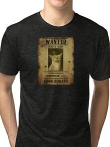Schrodinger's Cat - Wanted Tri-blend T-Shirt