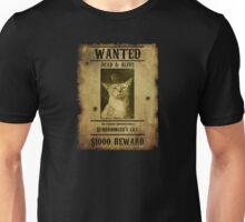 Schrodinger's Cat - Wanted Unisex T-Shirt