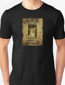 Schrodinger's Cat - Wanted T-Shirt