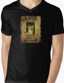 Schrodinger's Cat - Wanted Mens V-Neck T-Shirt