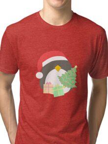 Penguin #1 Tri-blend T-Shirt