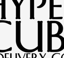 hypercube delivery co -corsair Sticker