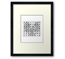Cypher, Warhammer 40K Framed Print