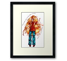 When I was a child... Framed Print