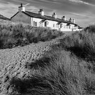 Pilots Cottages by Adrian Evans