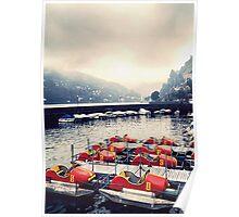 Como Lake - Italy  Poster
