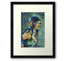Blue Nila Framed Print