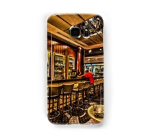 Digitally Enhanced interior of a bar Samsung Galaxy Case/Skin