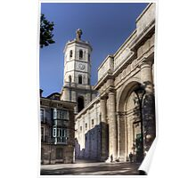 Valladolid Cathedral Tower Poster