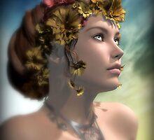Antheia by Sandra Bauser Digital Art