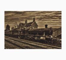 Great Western Railway Engine 2857 - Sepia Version One Piece - Short Sleeve