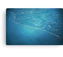 Land And Water Canvas Print