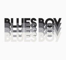 Blues Boy One Piece - Long Sleeve