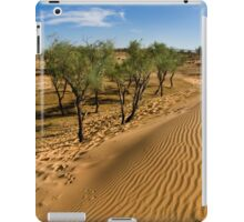 Tamarix trees on sand dune  iPad Case/Skin