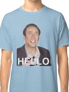 Nicolas Cage - HELLO Sticker Classic T-Shirt