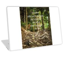 Walk with nature Laptop Skin