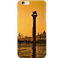 Venice, Italy at sunset  iPhone Case/Skin
