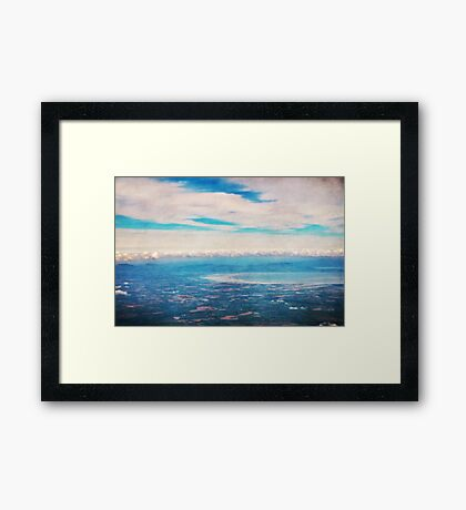 Above Ireland Framed Print