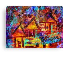 Dreamland - My Imaginary Getaway Canvas Print