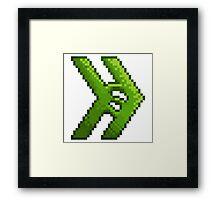 Smosh Pixel Icon Framed Print
