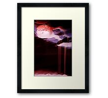 Sand Waterfall Framed Print