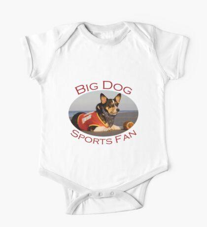 Big Dog Sports Fan One Piece - Short Sleeve