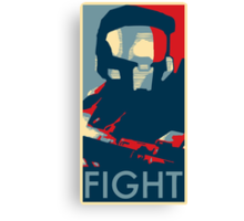 FIGHT - Halo Campaign Canvas Print