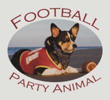 Football Party Animal by William C. Gladish