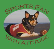 Sports Fan With Attitude One Piece - Short Sleeve