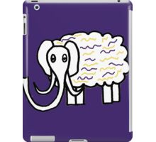 Wooly mammoth cotton candy iPad Case/Skin
