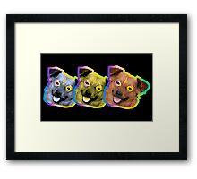 Odd Future Dog Framed Print