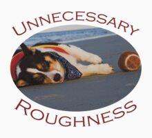 Unnecessary Roughness Kids Tee