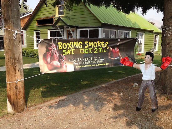 Boxing Smoker by Susan Littlefield