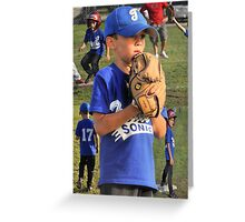 Baseball Collage Greeting Card