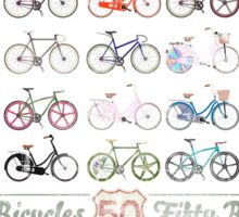 Fifty Bicycles Sticker