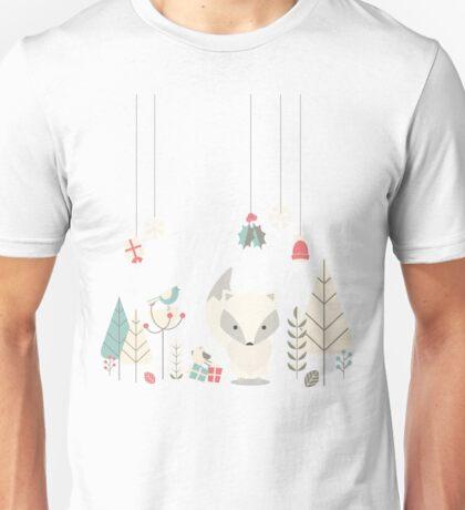 Christmas baby fox 04 Unisex T-Shirt