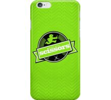 Runs with Scissors - Lime iPhone Case/Skin