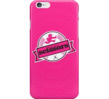 Runs with Scissors - Pink iPhone Case/Skin