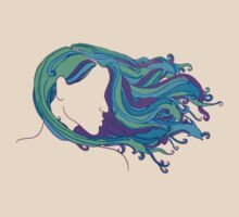 She Had Dolphins In Her Hair by DILLIGAF